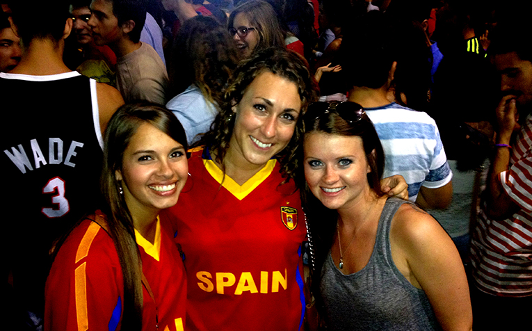 Watching the World Cup in Sevilla, Spain