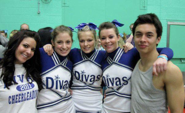 Durham University cheerleading squad