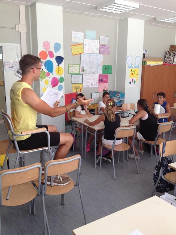 Teaching teens in Austria