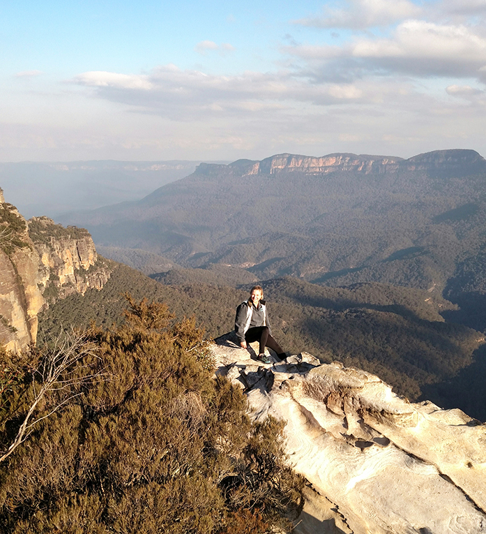 Blue Mountains in Katoomba, New South Wales, Australia