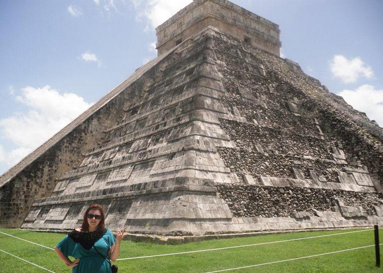 Chichen Itza in Yucatan Peninsula in Mexico