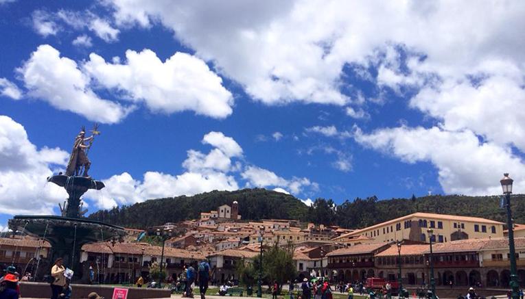 Plaza des Armas, Cusco, Peru