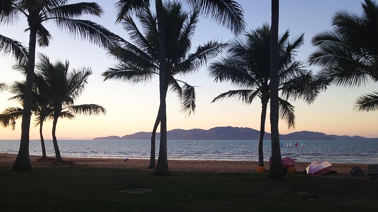 Sunset in Townsville, Australia