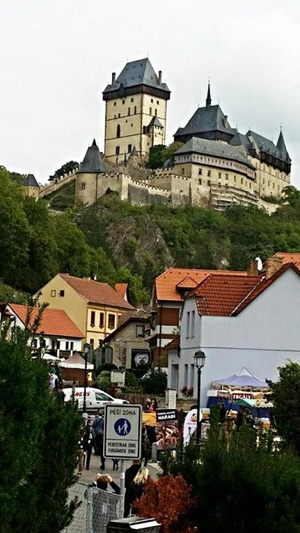 Karljsten Castle in the Czech Republic