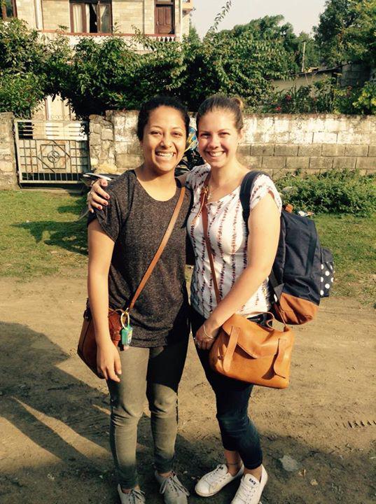 Pod Volunteer staff in Nepal