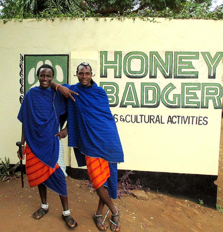 Maasai teenagers in Tanzania