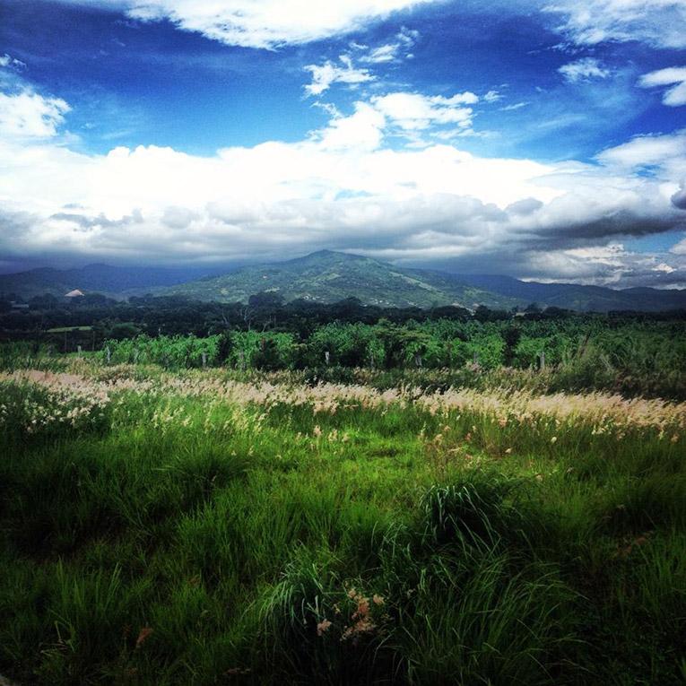 A beautiful view in Costa Rica