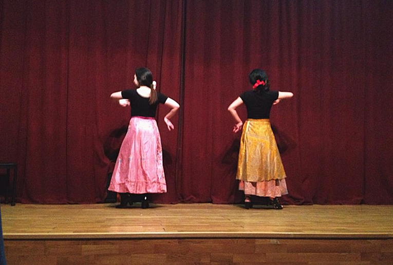 Flamenco dance performance in Madrid, Spain
