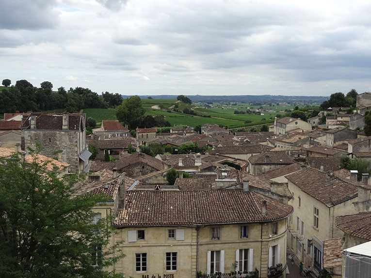 View of Saint-Emilion, France