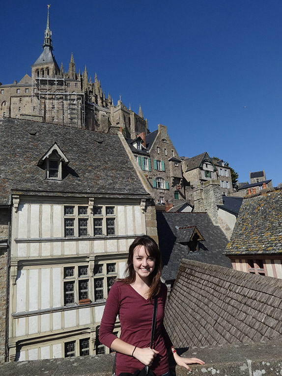 Mont St. Michel in France