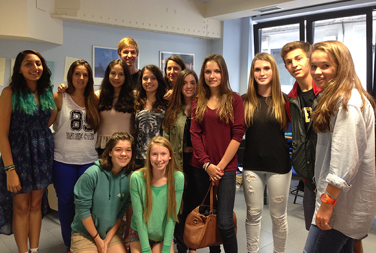 SPI Study Abroad students in San Sebastian, Spain