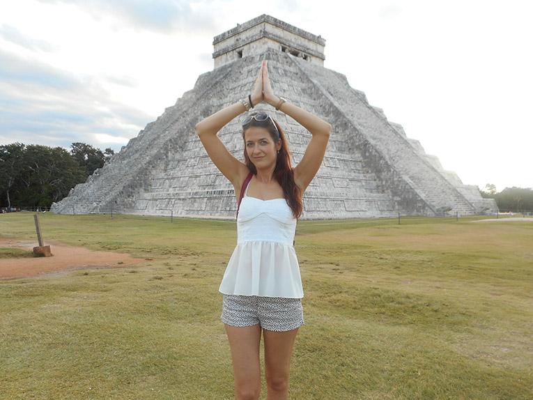Mayan Pyramids of Chichen Itza in Mexico