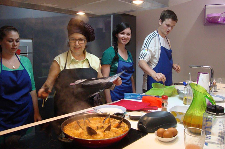 Spanish cooking class in Spain