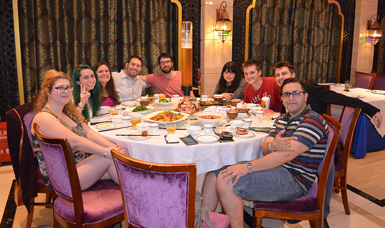 Teaching Nomad graduation dinner
