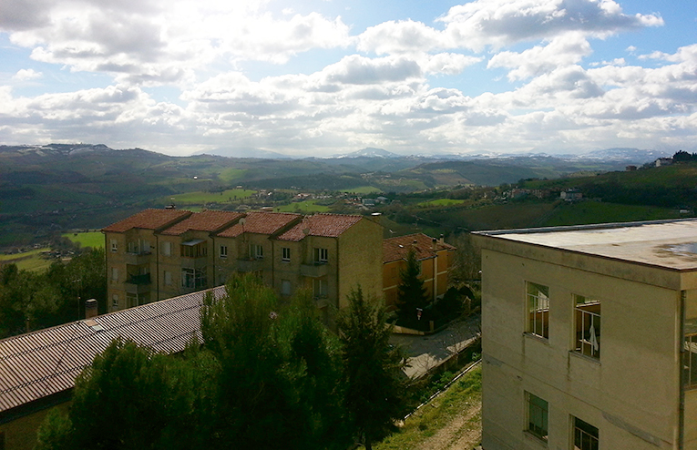 A view of Marche, Italy