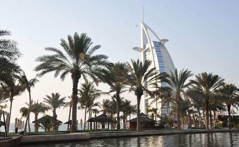 View of the Burj al Arab