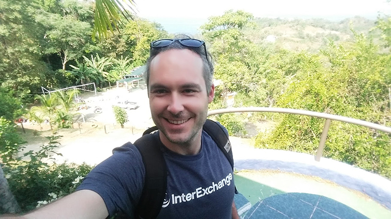 Selfie in Costa Rica