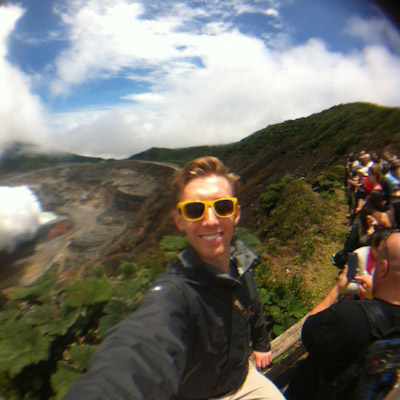 Visiting Poaz Volcano