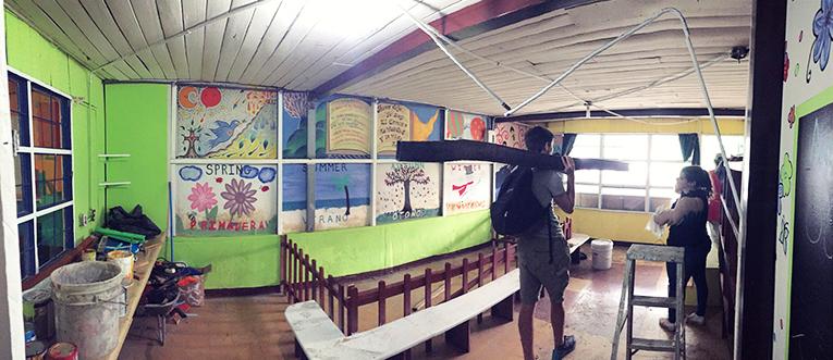 Daycare center in San Jose, Costa Rica