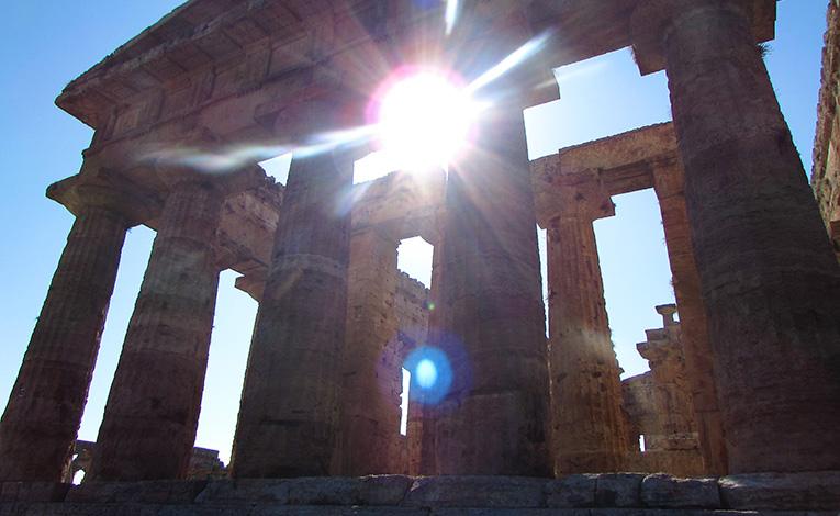 Temple to Hera, Greece