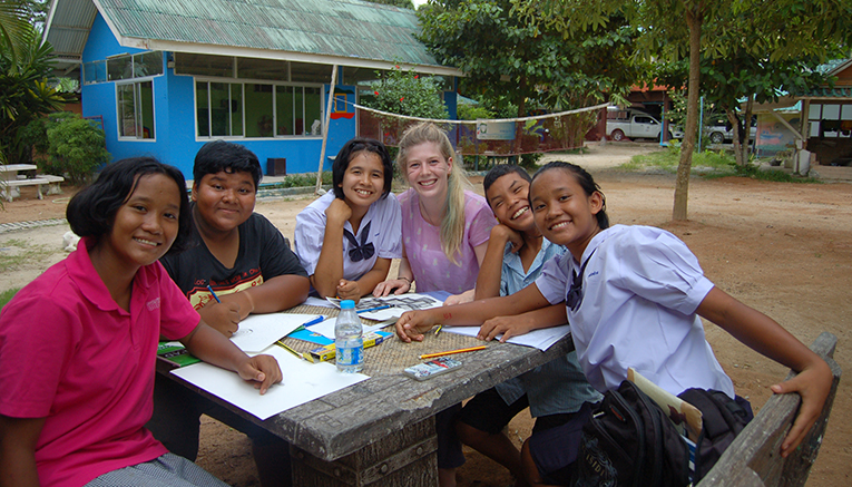 Volunteer at the Childrens Home Patae in Thailand