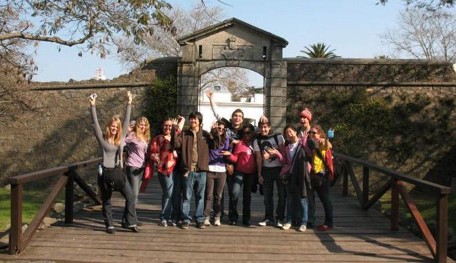 Academic Programs International group trip to Colonia, Uruguay