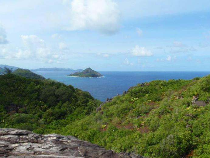 Island view in Seychelles