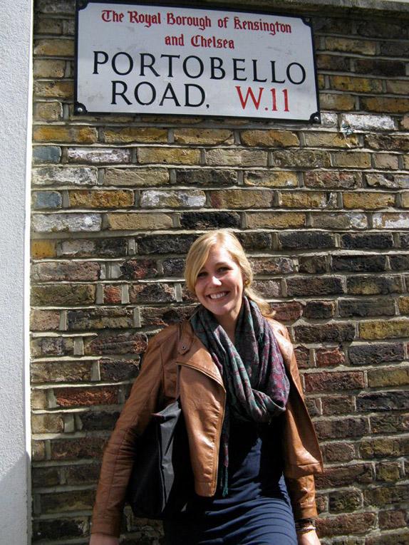 Portobello Road in London, England