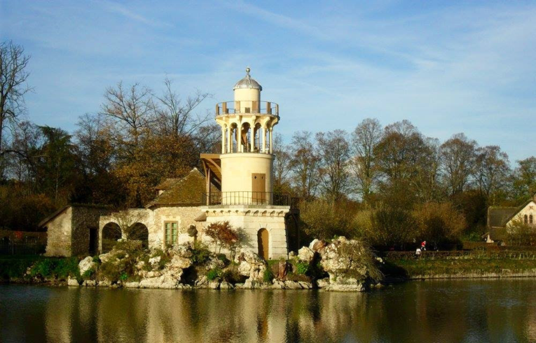 Marie Antoinette's Chateau in Versailles, France