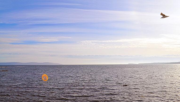 Oceanview in Galway, Ireland