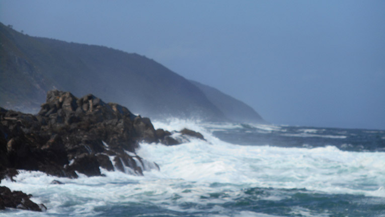 Coast of Tsitsikamma National Park