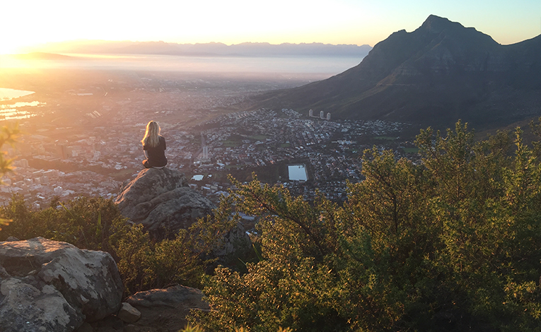 View of Cape Town from Lions Head