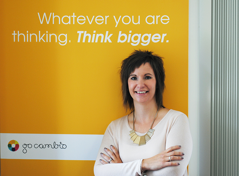 Rosie Mansfield, Managing Director of GoCambio