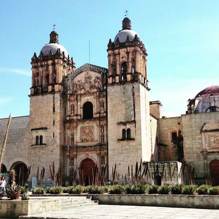 The Church of Santo Domingo de Guzmán,Oaxaca, Mexico