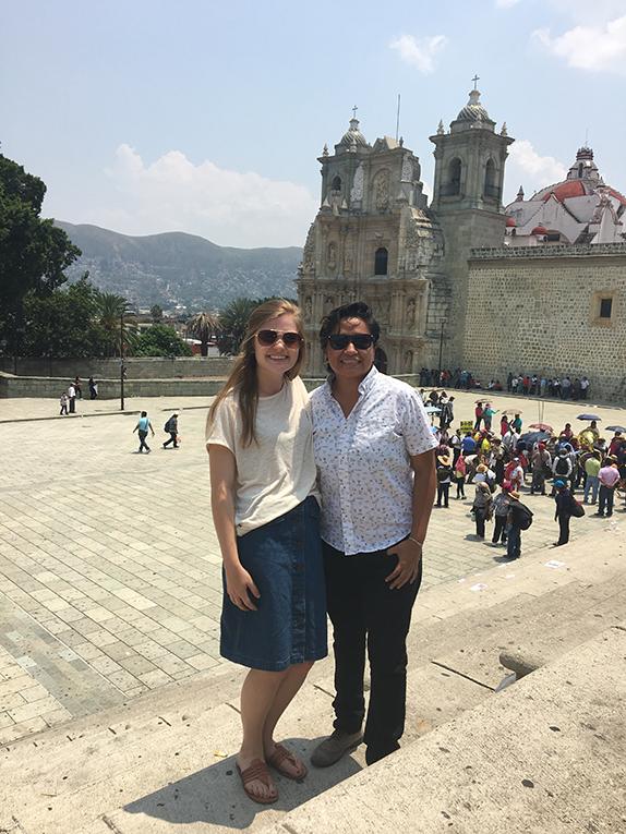 View of Oaxaca, Mexico