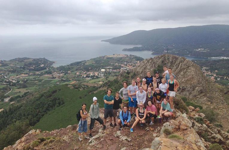 Hiking in the Mediterranean