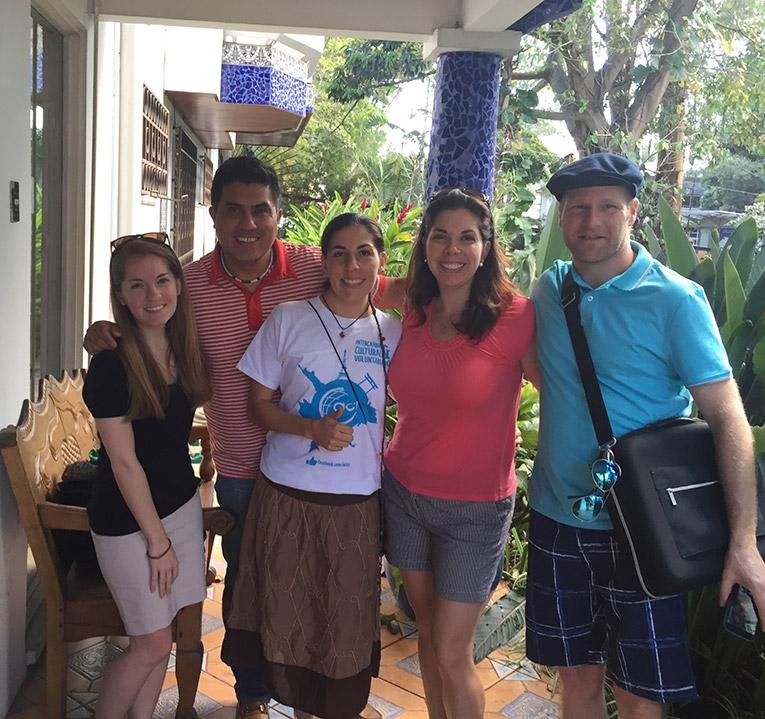 United Planet Staff in Costa Rica
