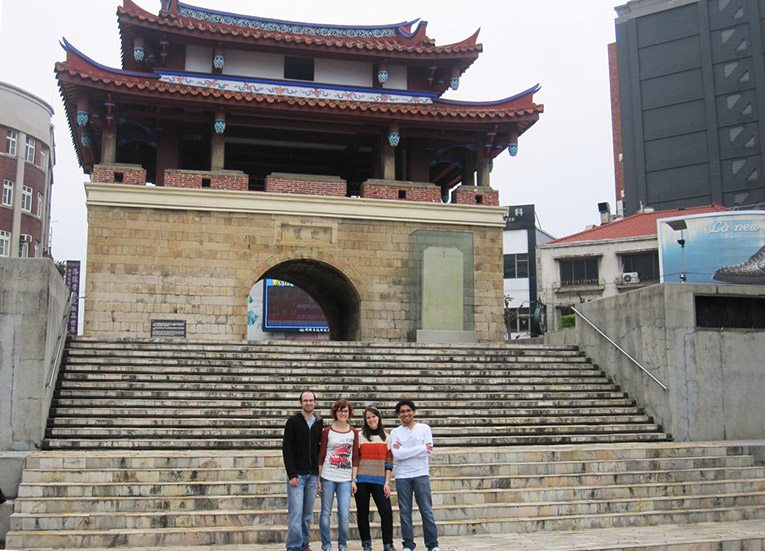 A staff living and working in Hsinchu, Taiwan.