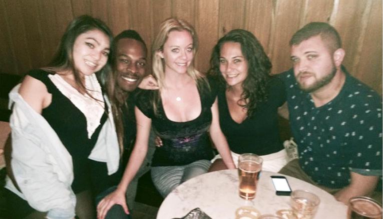 Friends in Australia