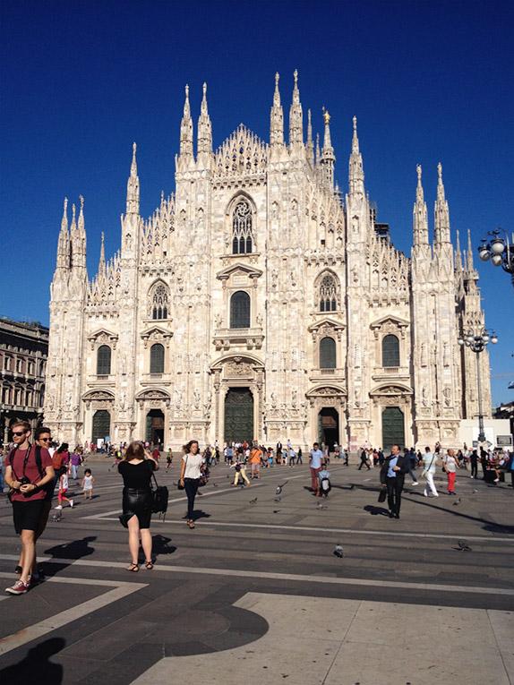 Duomo di Milano in Italy