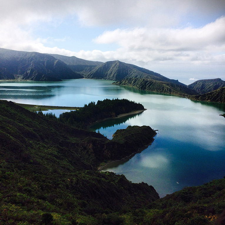 Lagoa de Fogo in Portugal