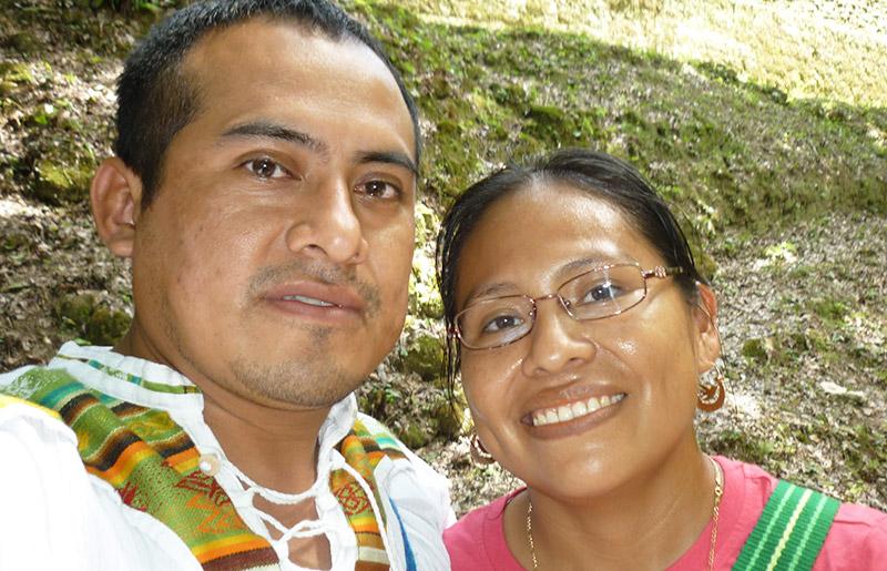 Program Coordinator of ISIS Belize with Pablo