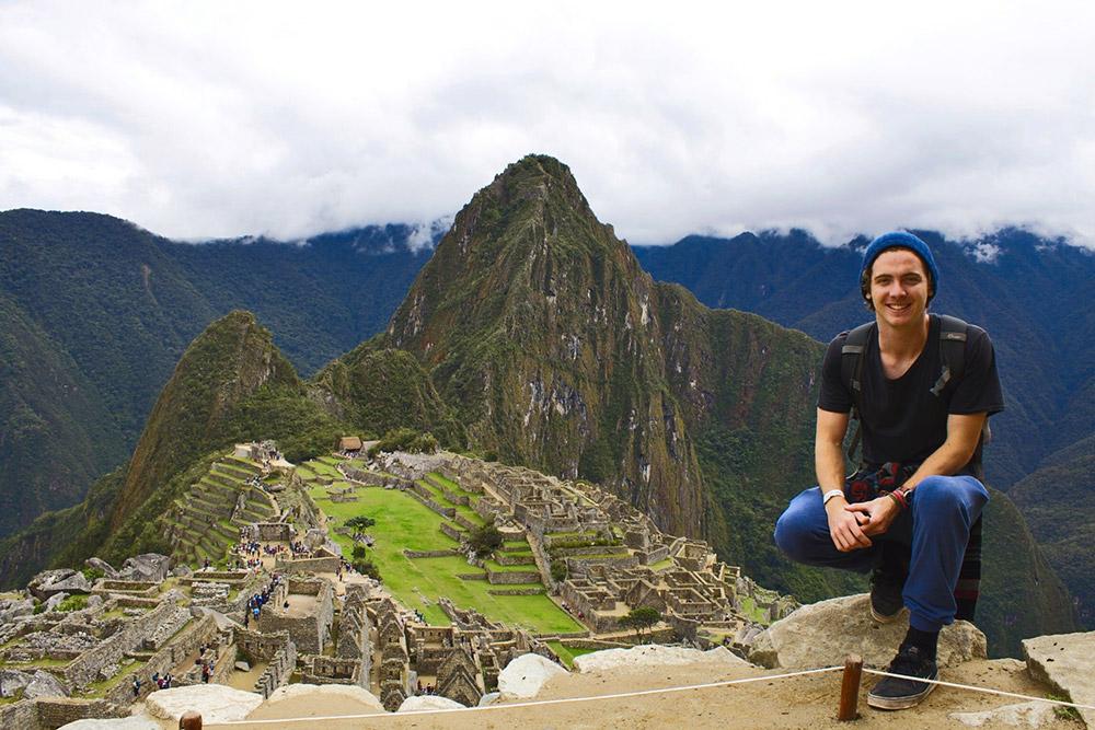 Machu Picchu ruins in Cusco, Peru.