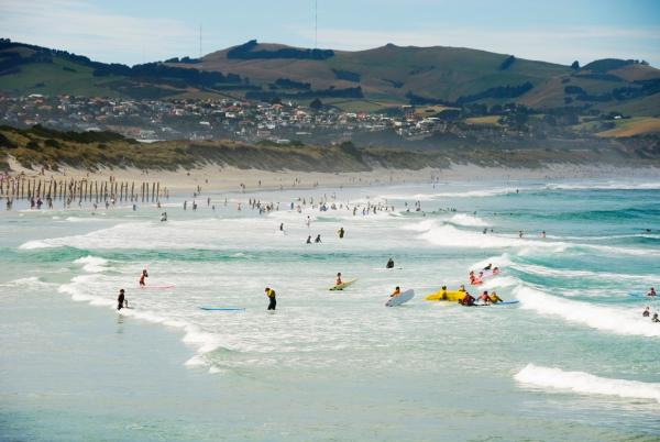 Otago Dunedin Beaches Surfing at St Clair