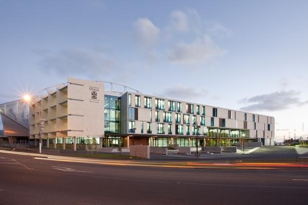 University of Otago Laguage Centre and Gym