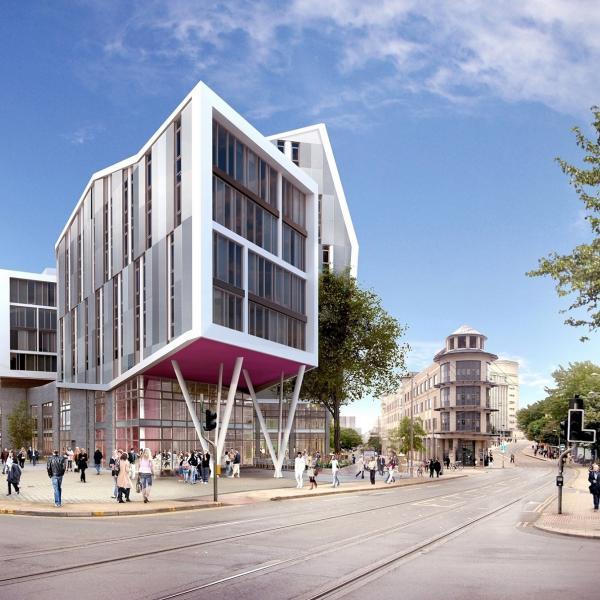 Byron building, Nottingham Trent University