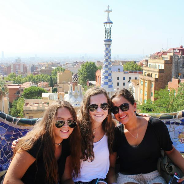Barcelona, Spain, Teen Travel, Gaudi, Park Guell
