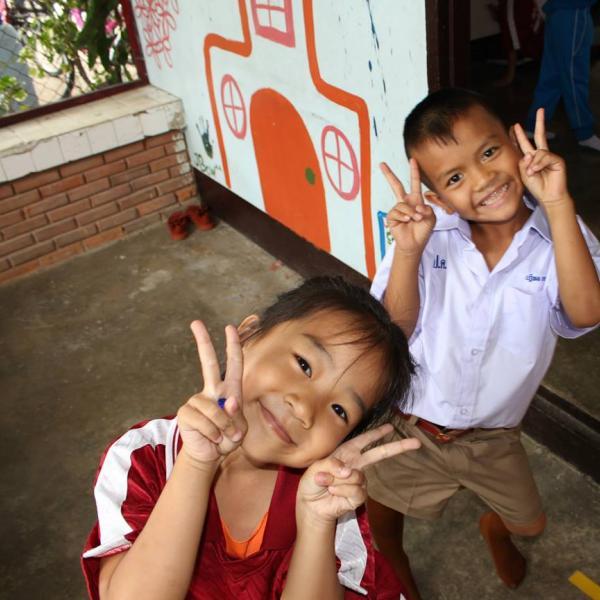 Teaching Thai students in Chiang Mai