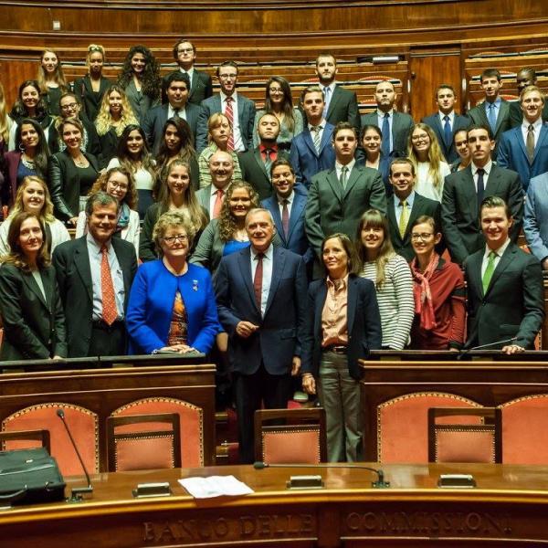 Meeting at the Italian Senate