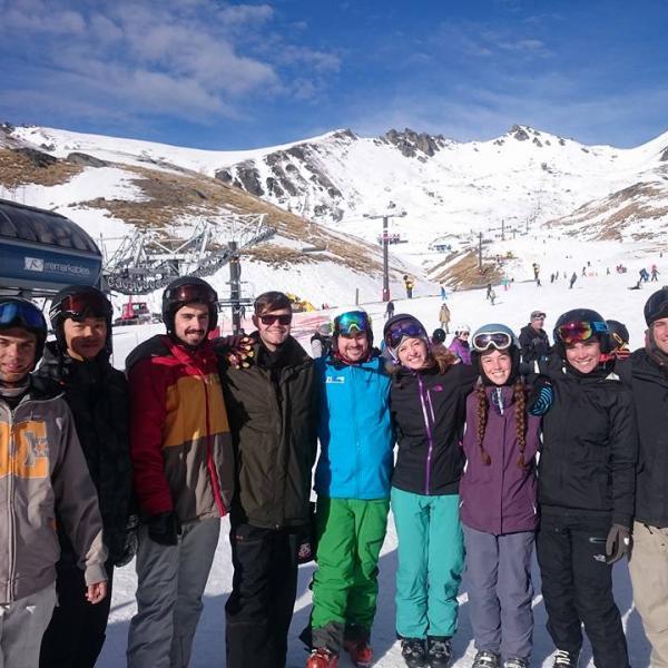 Ski Interns 2016